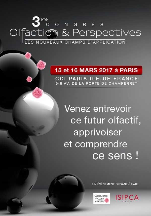 3e Congrès Olfaction et Perspectives : l'olfaction décloisonnée !