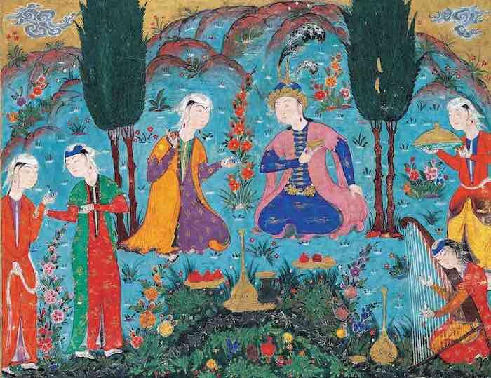 Le musc des secrets : le parfum et le désir dans la poésie persane par Leili Anvar
