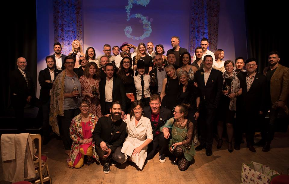 Art and Olfaction Awards, les gagnants 2018
