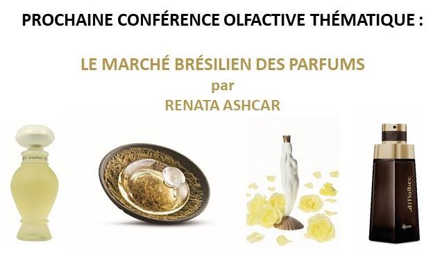 Conférence olfactive de l'Osmothèque : le marché des parfums brésiliens, par Renata Ashcar