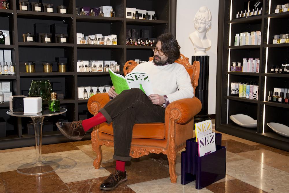 Edoardo Cogo (Amuga-Biblioteca Olfattiva) : « Je pense que Nez est un outil indispensable pour celui qui travaille dans ce secteur.» (en français – English – italiano)