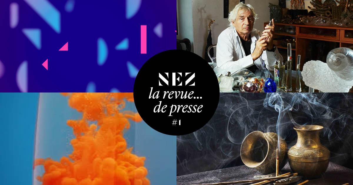 Nez, la revue… de presse – #1 – Où l'on apprend que la Suisse est peut-être bien l'autre pays du parfum…