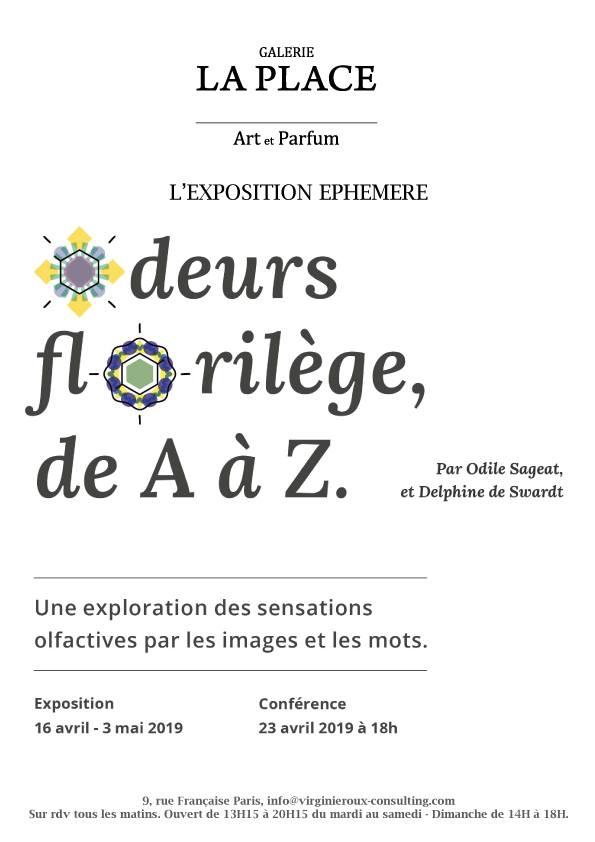 Conférence Odeurs Florilèges, de A à Z