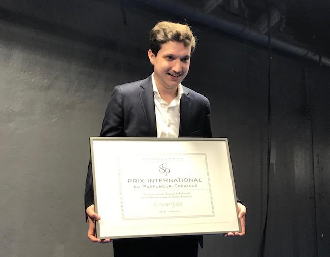 Florian Gallo - Récipiendaire du Prix international du parfumeur-créateur  (©Aurélie Dematons)