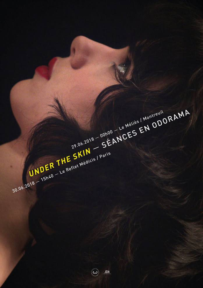 Under The Skin, cinéma en odorama