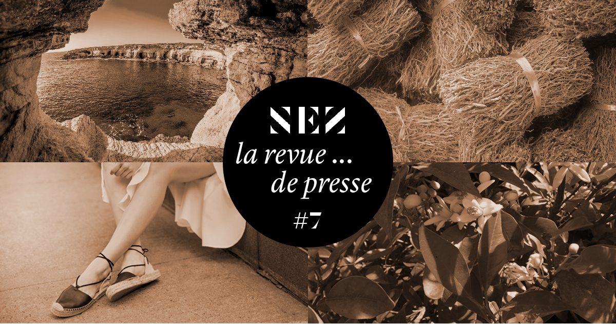 Nez, la revue… de presse – #7 – Où l'on apprend que les espadrilles peuvent sentir bon