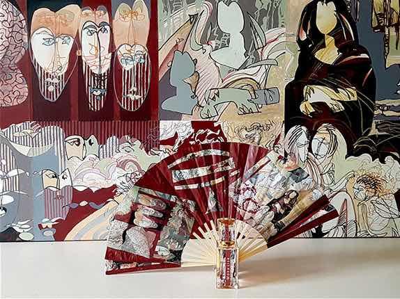 Sillages chromatiques, les œuvres synesthésiques de Didier-Michel