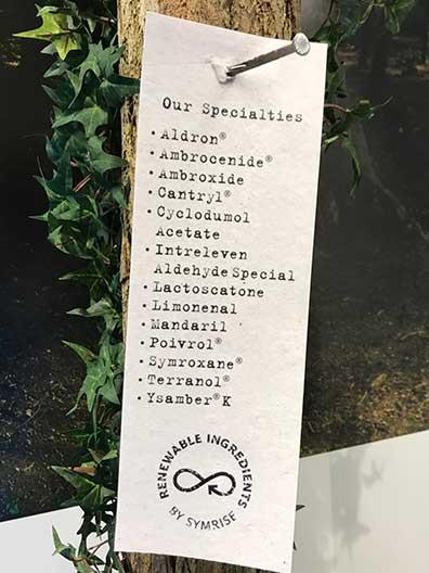 Au menu chez Symrise (photo : Aurélie Dematons)