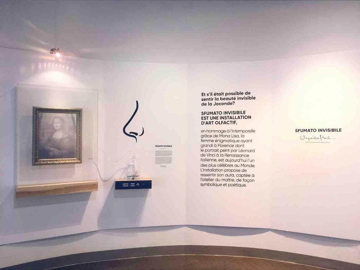 Sfumato invisible, un hommage olfactif à Mona Lisa