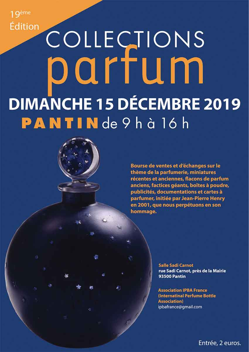 Salon « Collections Parfum » à Pantin le 15 décembre